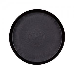 Big waitress metalen dienblad matt black 44ø