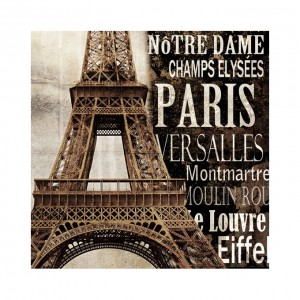 Canvasdoek Paris